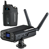 Audio-Technica ATW-1701 System 10 camera-mount wireless system - Beltpack transmitter system