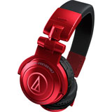 Audio-Technica ATH-PRO500MK2 RD Professional DJ Monitor Headphones