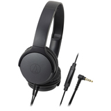 Audio-Technica ATH-AR1iSBK Portable On-Ear Headphones Black