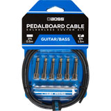 Boss BCK-6 Pedalboard cable kit 6 connectors 1.8m