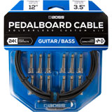 Boss BCK-12 Pedalboard cable kit 12 connectors 3.6m
