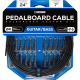Boss BCK-24 Pedalboard cable kit 24 connectors 7.3m