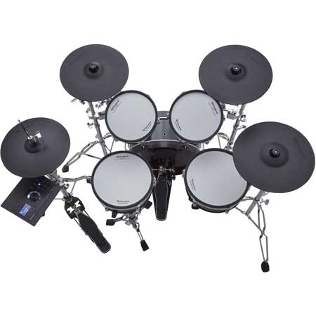 Roland VAD-306 Acoustic drum set with TD-27 module (2 x Tom, kick, snare, Hi-Hat, 2 x cymbals)