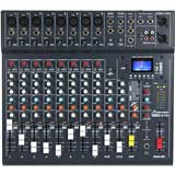 Studiomaster CLUBXS12 12 Channel 8 x mic + 2 stereo line input mixer with USB/SD