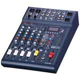 Studiomaster CLUBXS6 6-channel, 2 x mic + 2 stereo line input mixer with USB/SD