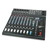 Studiomaster CLUBXS10+ 10-channel 6 x mic + 2 stereo line input mixer with USB/SD