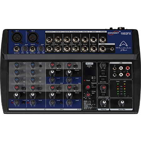 Wharfedale Connect-1002 FX Micro-Mixer 10-ch with FX